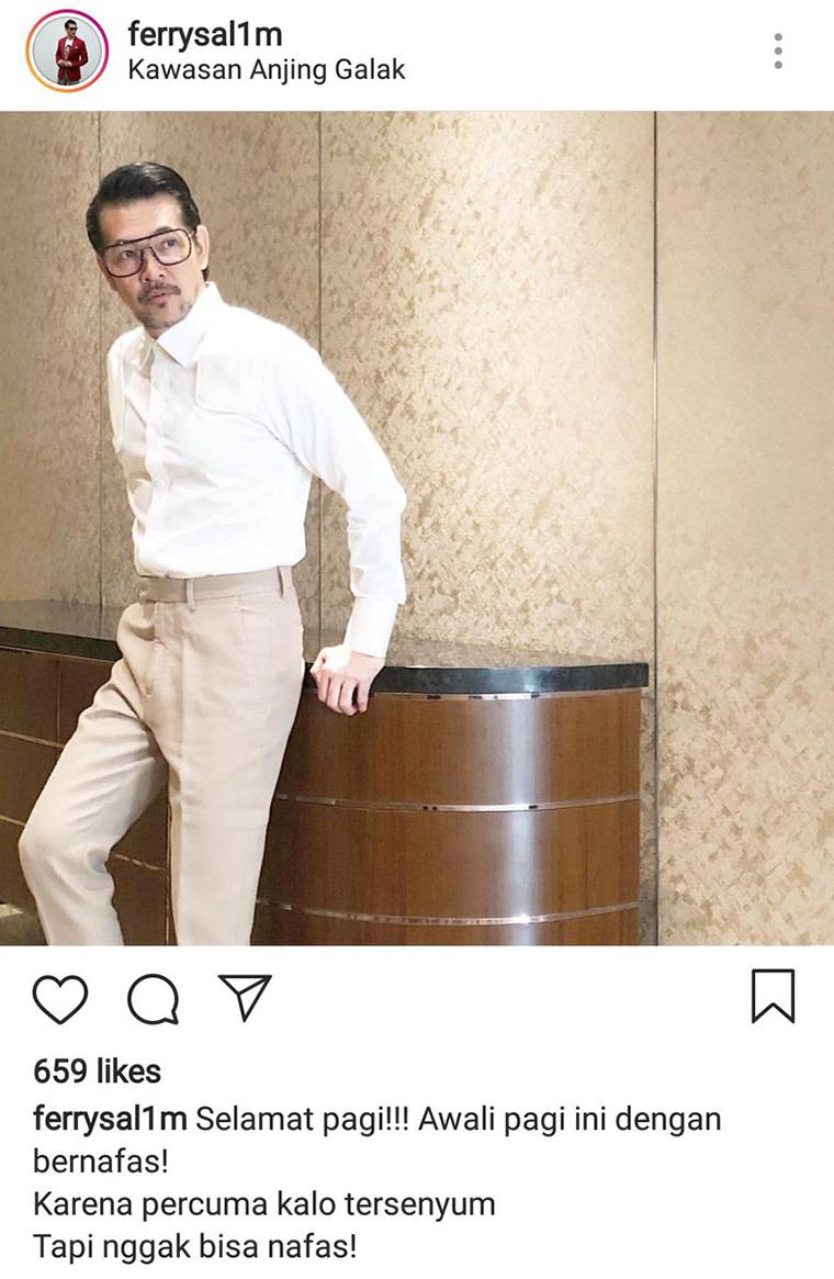 Begini Kumpulan Caption Instagram Ferry Salim Yang Gak